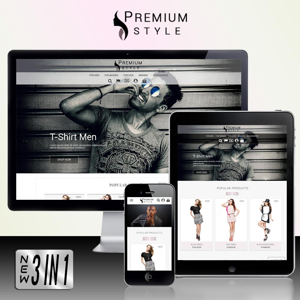 Premium Style 3 in 1