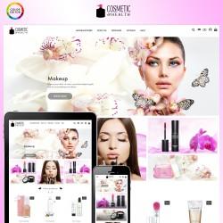 Szablon kosmetyczny dla sklepów z kosmetykami Prestashop 1.7